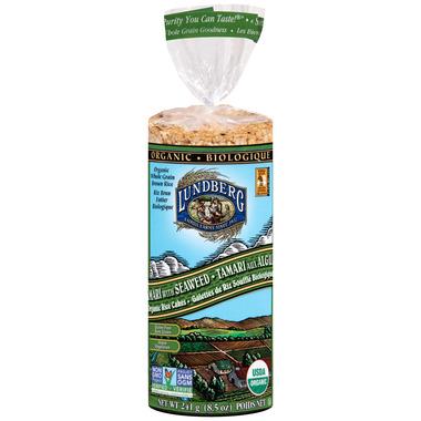 Lundberg Organic Tamari With Seaweed Rice Cake