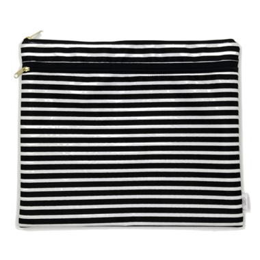 Logan and Lenora Waterproof Wet + Dry Portfolio Audrey Stripe