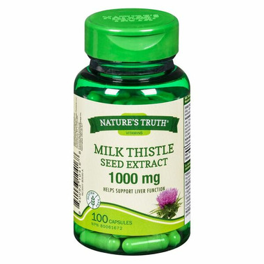 Nature\'s Truth Milk Thistle Seed Extract 1000 mg