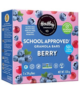 Healthy Crunch School Approved Granola Bars Berry