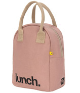 Fluf Zippered Lunch 'Lunch' Mauve