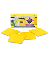 Post-it Super Sticky Full Adhesive Notes Yellow
