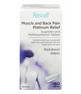 Rexall Muscle & Back Pain Platinum Relief Caplets