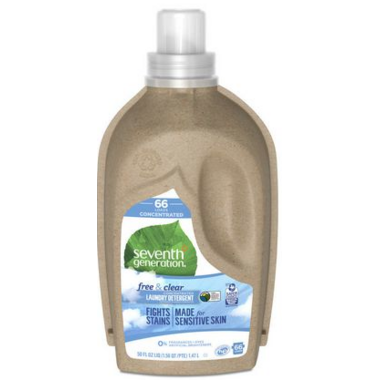 Seventh Generation Natural 4 x Concentrated Laundry Detergent