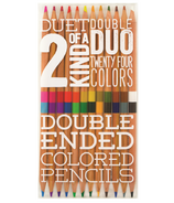 OOLY Two of a Kind Double Ended Colored Pencils