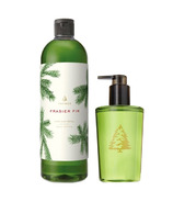 Thymes Frasier Fir Hand Soap and Refill Bundle