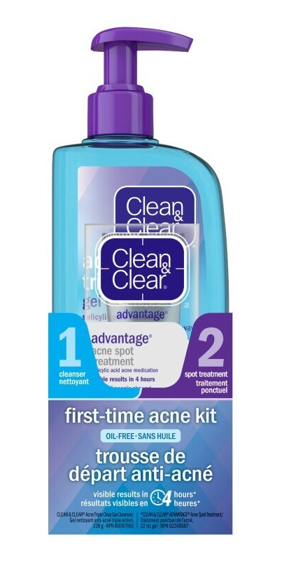 Buy Clean Clear First Time Acne Kit From Canada At Well Ca Free Shipping