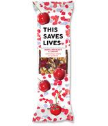 This Saves Lives Dark Chocolate & Cherry Bar