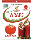NewGem Foods GemWraps All Natural Wraps Tomato