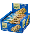 Taste of Nature Organic Food Bars Blueberry