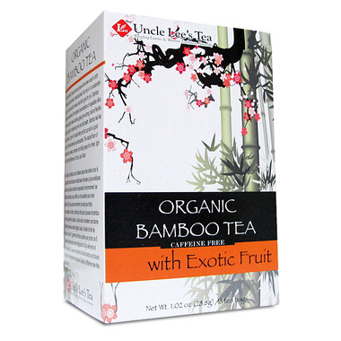 Uncle Lee\'s Organic Bamboo Tea with Exotic Fruit