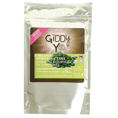 Giddy Yoyo Spirulina Tablets