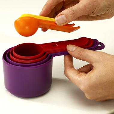 Joseph Joseph Nest Measuring Cup and Spoon Multi Colour