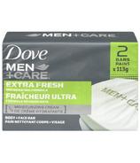 Dove Men +Care Extra Fresh Invigorating Formula Body + Face Bar