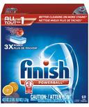 Finish Powerball Dishwasher Detergent Orange