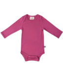 Kyte Baby Long Sleeve Bodysuit Sangria