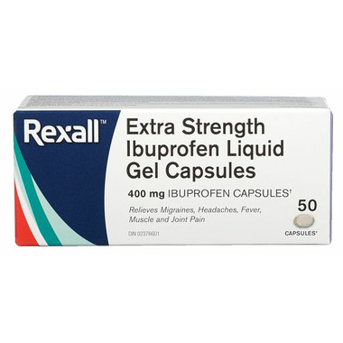 Rexall Extra Strength Ibuprofen Liquid Gel