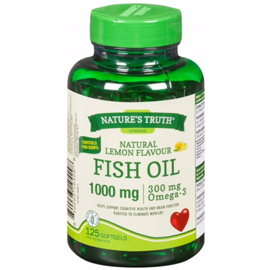 Nature\'s Truth Fish Oil 1000 mg and Omega-3 300 mg