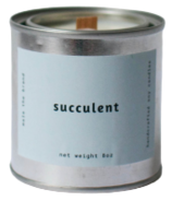 Mala The Brand Soy Candle Succulent