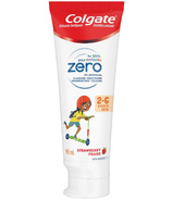 Colgate Zero for Kids 2-6 years Toothpaste Strawberry