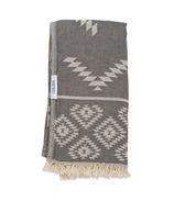 Lualoha Turkish Towel Luxury Tribe Charcol