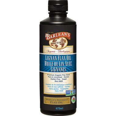 Barlean\'s Lignan Flax Oil
