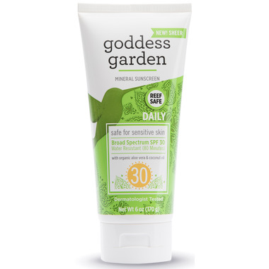 Goddess Garden Daily SPF 30 Mineral Sunscreen SPF 30