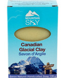 Mountain Sky Canadian Glacial Clay Bar Soap