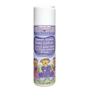 Healthy Times Sweet Violet Baby Lotion