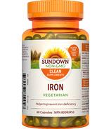 Sundown Naturals Iron Vegeterian