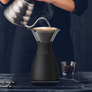 Asobu Pour Over Insulated Coffee Maker Black