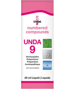 UNDA Numbered Compounds UNDA 9 Homeopathic Preparation