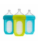 Boon NURSH 8oz Bottle Blue Multi