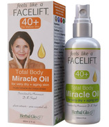 Herbal Glo Facelift 40+ Total Body Miracle Oil