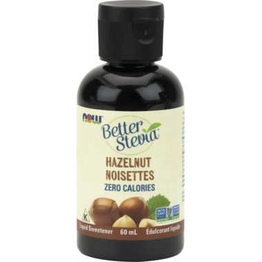 NOW BetterStevia Liquid Sweetener Hazelnut