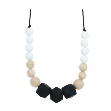 Glitter & Spice Silicone Teething Necklace Addison