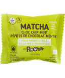 Roobar Matcha Choc Chip Mint Roobiotic Pre & Probiotic Ball