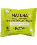 Roobar Matcha Choc Chip Mint Roobiotic Pre & Probiotic Ball