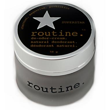 Routine De-Odor-Cream Natural Deodorant SUPERSTAR