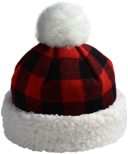 Pudus Hat Lumberjack Red Adult