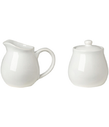 Now Designs Kitchen Style Cream & Sugar Set White