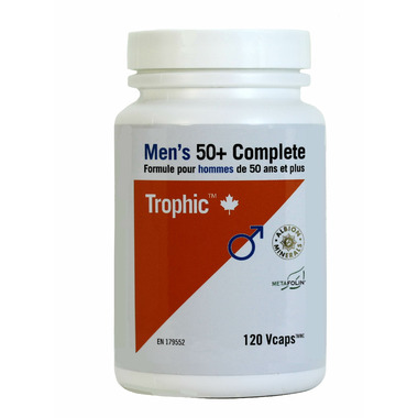 Trophic Men\'s 50+ Complete Multivitamin & Mineral Formula
