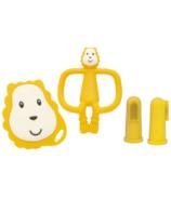 Matchstick Monkey Teething Starter Set Ludo Lion