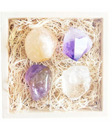 Little Box of Rocks Crystal Collection Sunlight