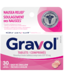 Gravol Easy to Swallow Tablets