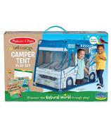 Melissa & Doug Let's Explore RV Tent Activity Set