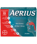 Aerius Non-Drowsy 24-Hour Allergy Small
