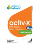 Platinum Naturals Multivitamin Activ-X for Active Men Sample