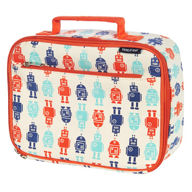 Keep Leaf Organic Cotton Lunch Box Robot