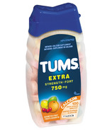 Tums Extra Strength Antacid Calcium Tablets, Fruit Flavour